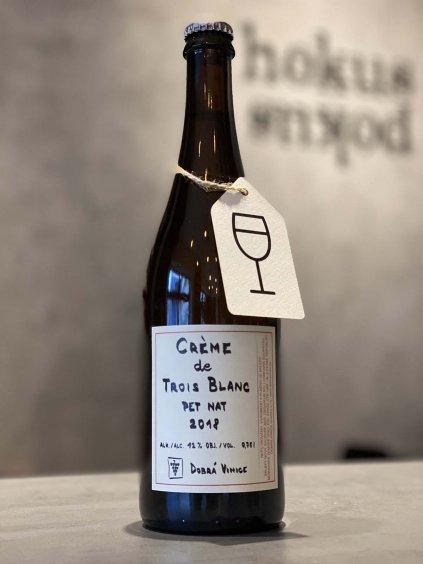dobra vinice creme de trois blanc