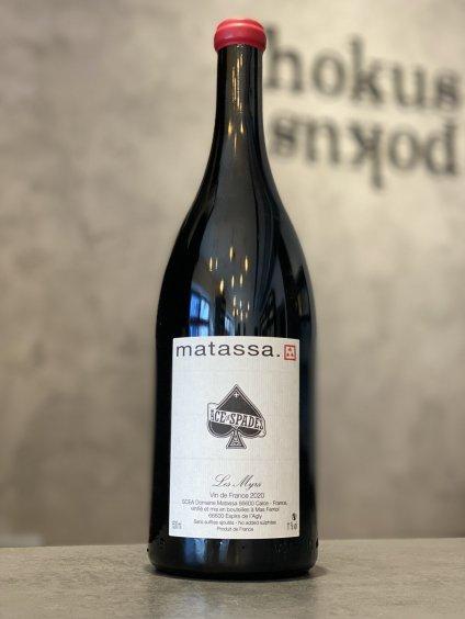 Matassa - Les Myrs Ace of Spades 2020 MAGNUM 1,5l