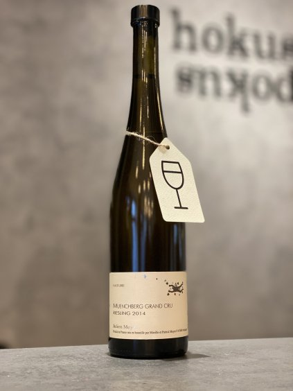 Julien Meyer - Riesling 2014 Münchberg Grand Cru