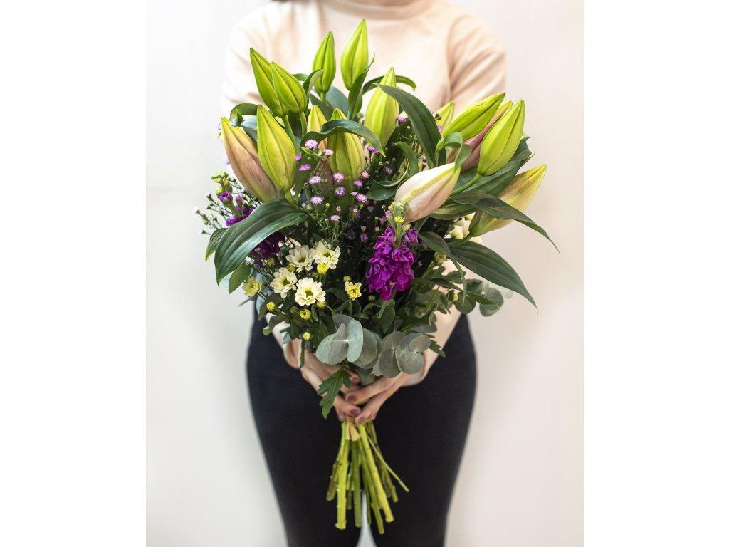 Kytice Lily - Holandské květiny
