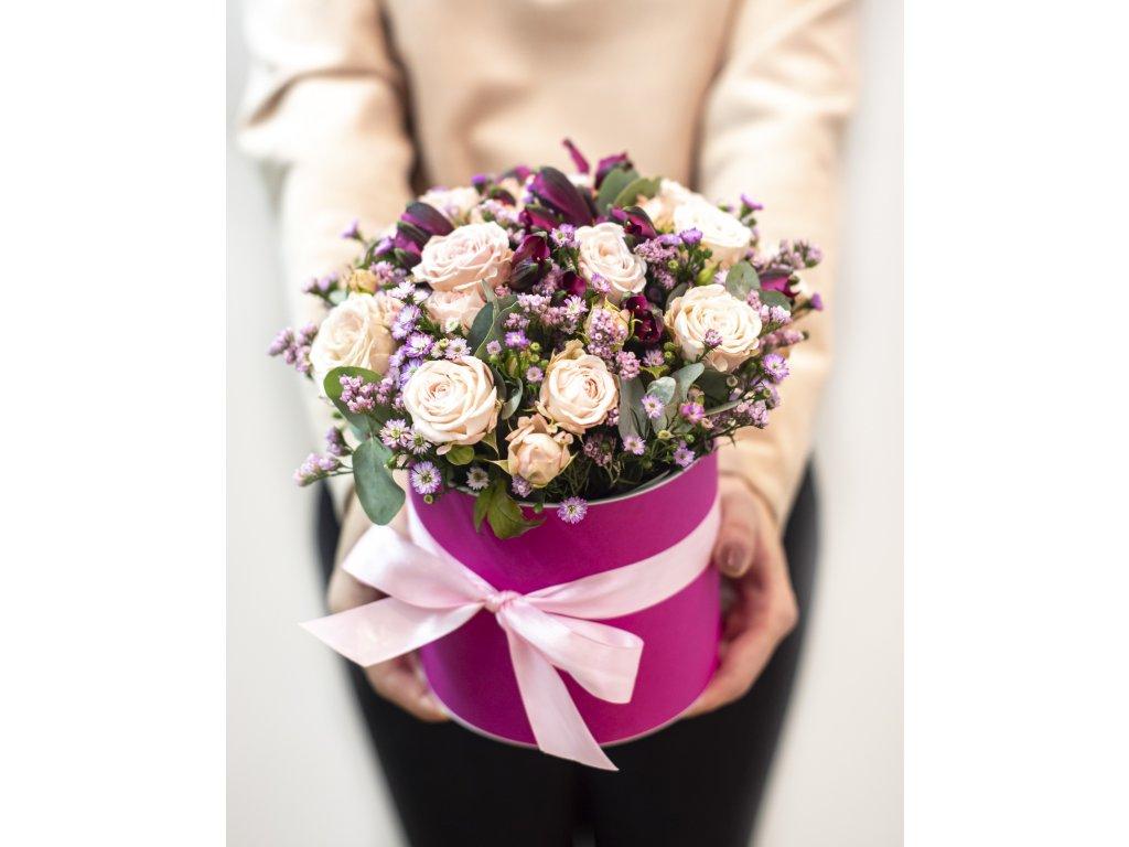 Flower box Sugar - Holandské květiny