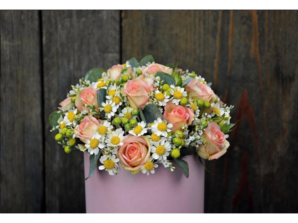 Flower box Pink - Holandské květiny