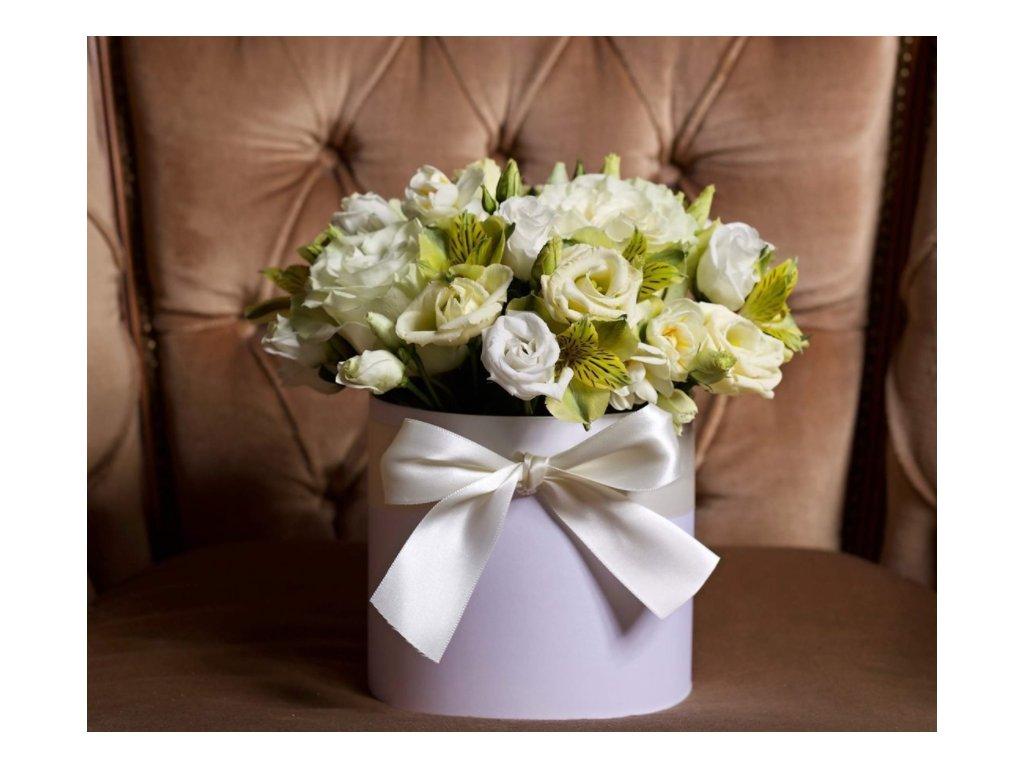 Flower box White - Holandské květiny