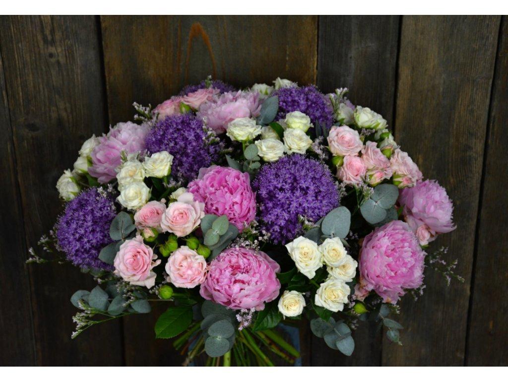 Kytice Allium - Holandské květiny