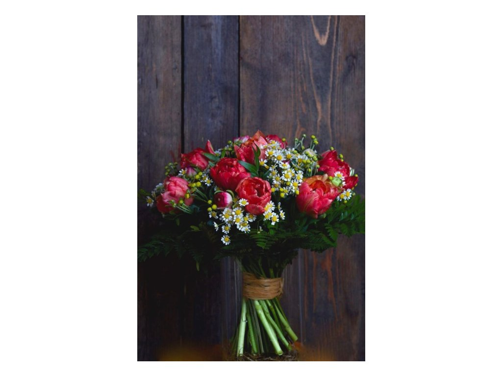 Kytice Red tulips - Holandské květiny