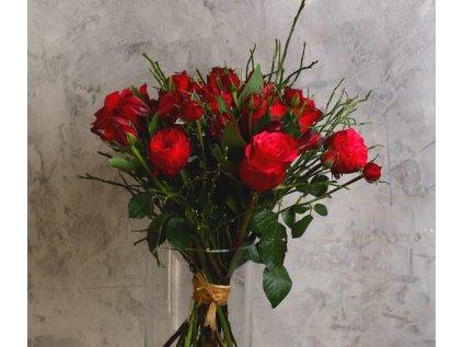 Kytice Red velvet - Holandské květiny