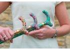 Skládací hůlky s rukojetí Petite - pro malé ruce