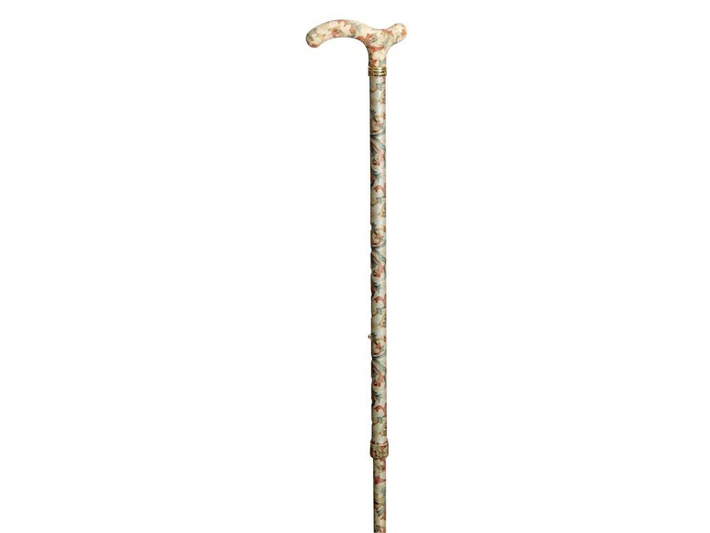 Vycházková hůl s nastavitelnou výškou/4099b