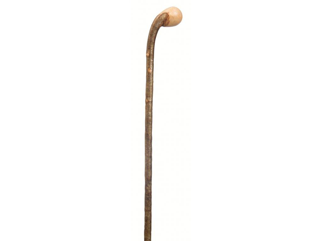 Vycházková hůl dřevěná Country/1200 Knobstick