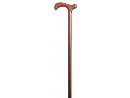 Vycházková hůl dřevěná /3555 Melbourne Burgundy