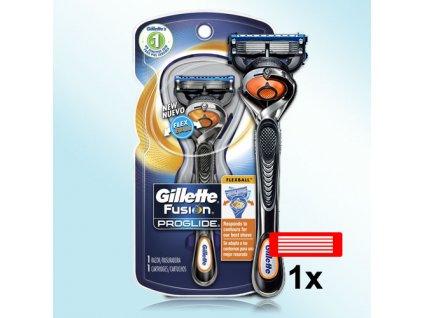 Gillette Fusion Proglide FLEXBALL holicí strojek s náhradní hlavicí celkem 1 ks