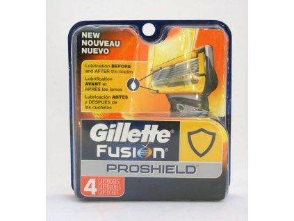 GILLETTE FUSION PROGLIDE PROSHIELD náhradní hlavice (4 kusy)