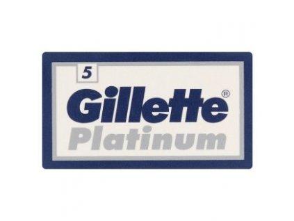 Gillette Platinum klasické žiletky 5ks  ® - DOVOZ Z USA ✅✅✅