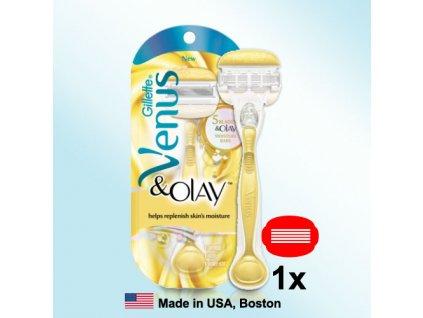 Gillette Venus Olay - strojek s jednou hlavicí  ® ⚡️- DOVOZ Z USA ✅✅✅