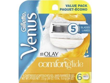 Gillette Venus Olay - žiletky náhradní hlavice - 6ks