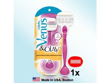 Gillette Venus Olay Sugar Berry- strojek s jednou hlavicí a držákem  ® ⚡️- DOVOZ Z USA ✅✅✅