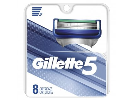 gillette 5 8ks hlavice