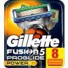 GILLETTE FUSION PROGLIDE POWER žiletky náhradní hlavice (8 kusů)