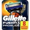 GILLETTE FUSION PROGLIDE žiletky náhradní hlavice (8 kusy)