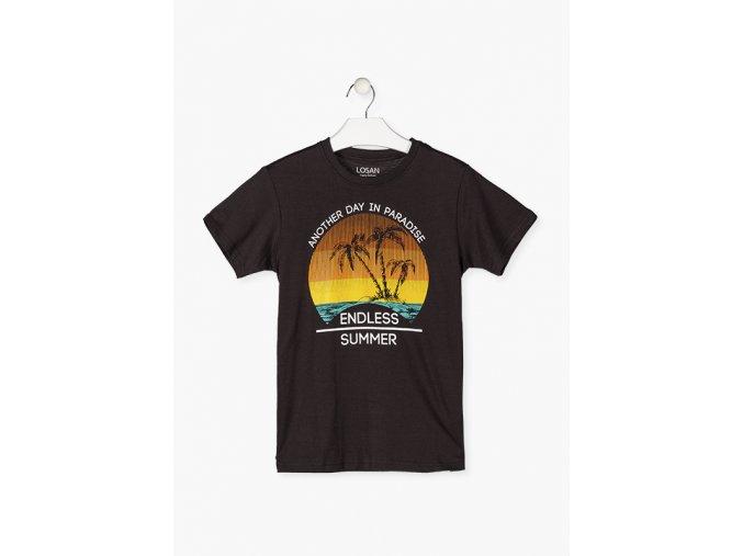 Chlapecké tričko rukáv s potiskem krátký rukáv (různé barevné varianty)