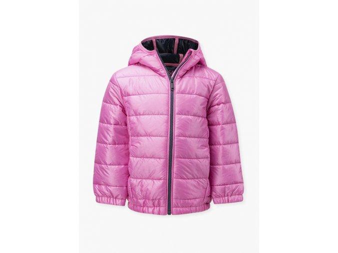 Dívčí přechodová prošívaná bunda (dvě barevné varianty)
