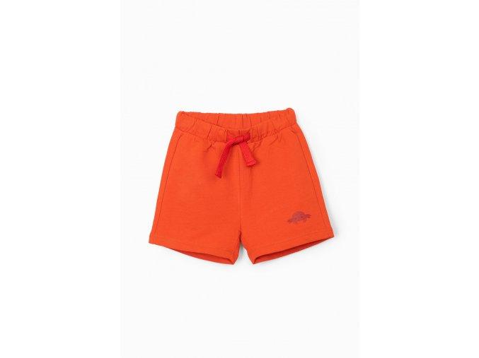 Kojenecké oranžové kraťasy