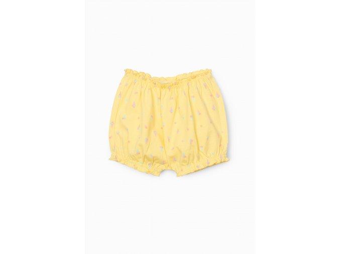 Kojenecké žluté šortky