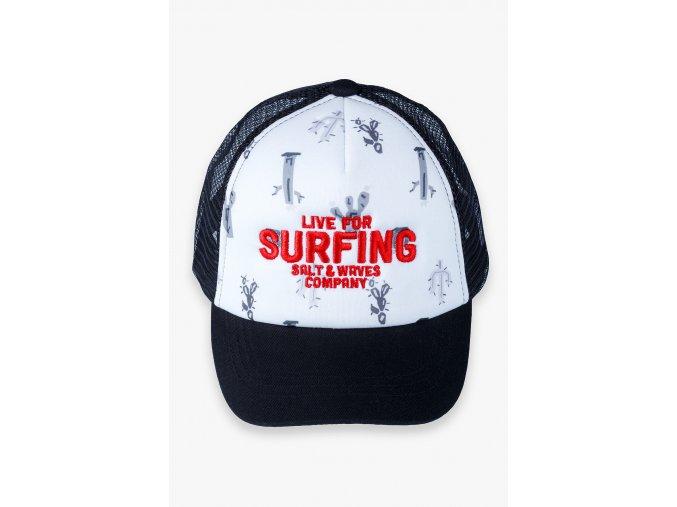 Chlapecká kšiltovka se síťovinou Surfing