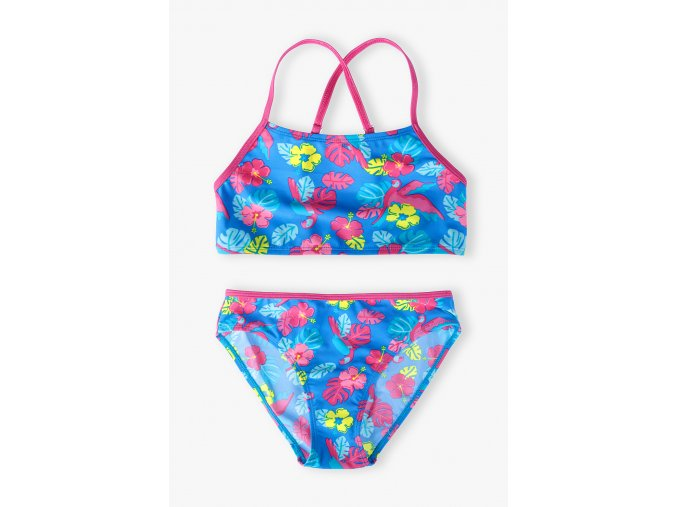Dívčí dvoudílné plavky Džungle