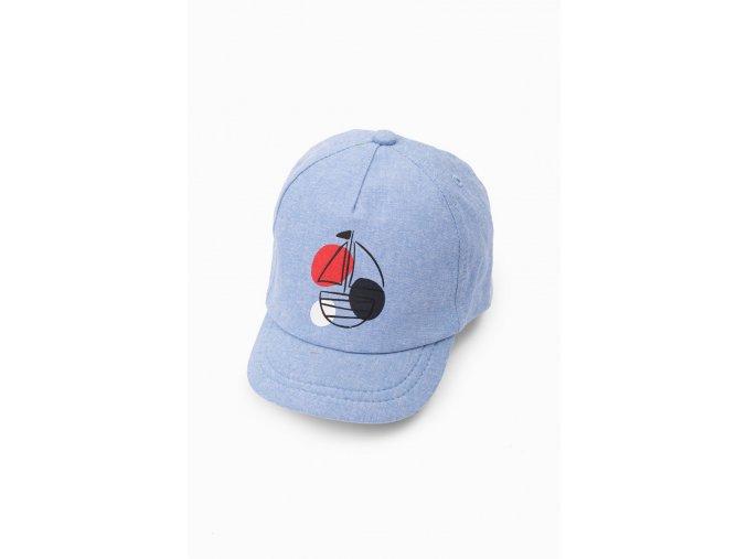 Kojenecká modrá kšiltovka