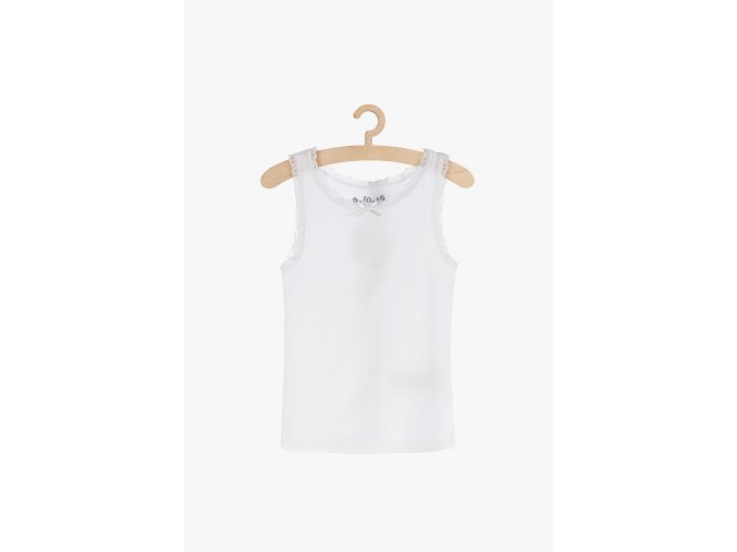 Košilka s krajkou (Barva Bílá, Velikost 110/116)