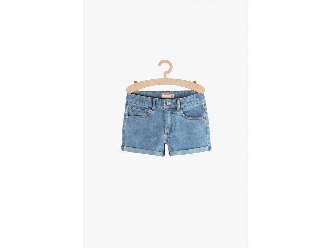 Dívčí džínové šortky (Barva Modrá, Velikost 134)