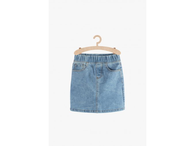 Dívčí džínová sukně (Barva Modrá, Velikost 134)