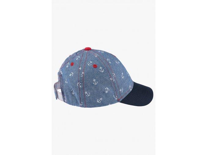 Kšiltovka námořnická (Barva Modrá, Velikost 48/50)