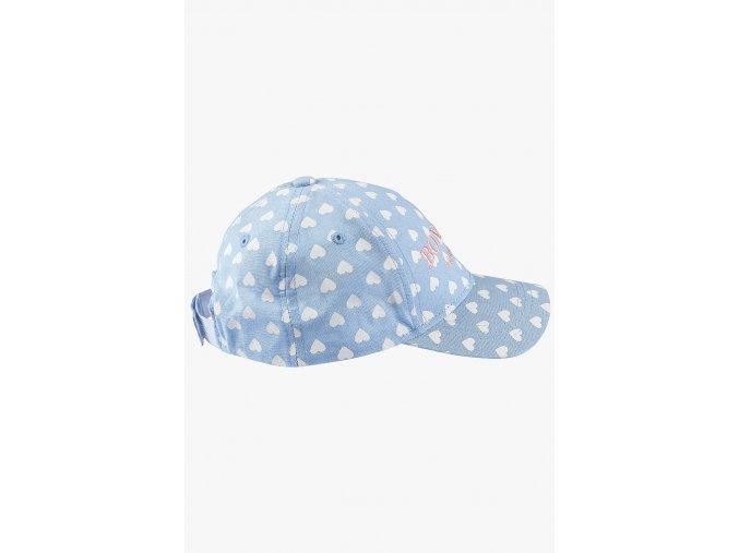 Kšiltovka s výšivkou (Barva Modrá, Velikost 48/50)