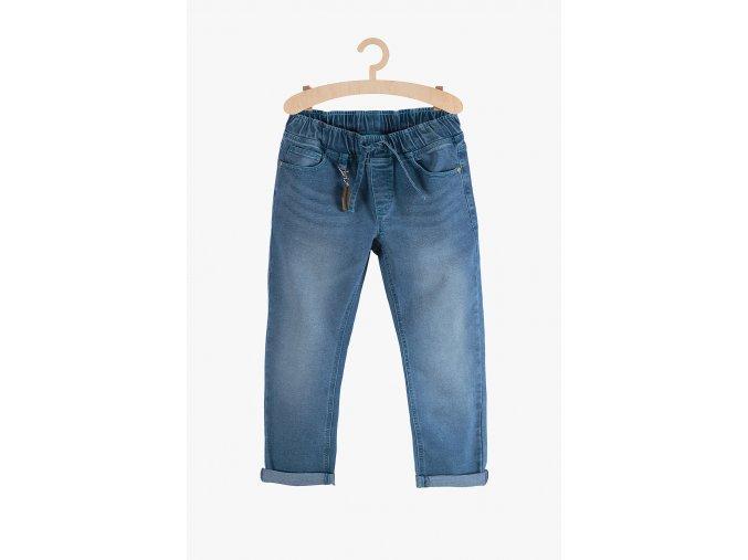 Chlapecké pohodlné džíny (Barva Modrá, Velikost 134)
