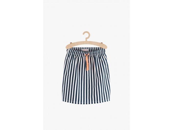 Bavlněná sukně proužkovaná (Barva Mix barev, Velikost 134/140)