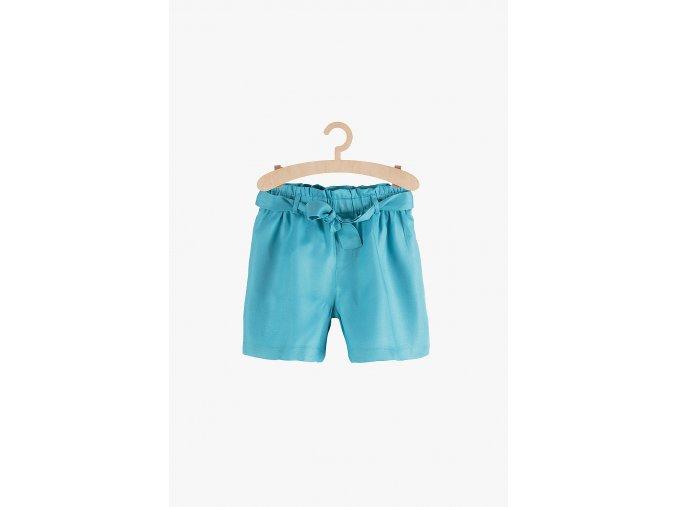 Módní šortky s vázačkou (Barva Modrá, Velikost 134)