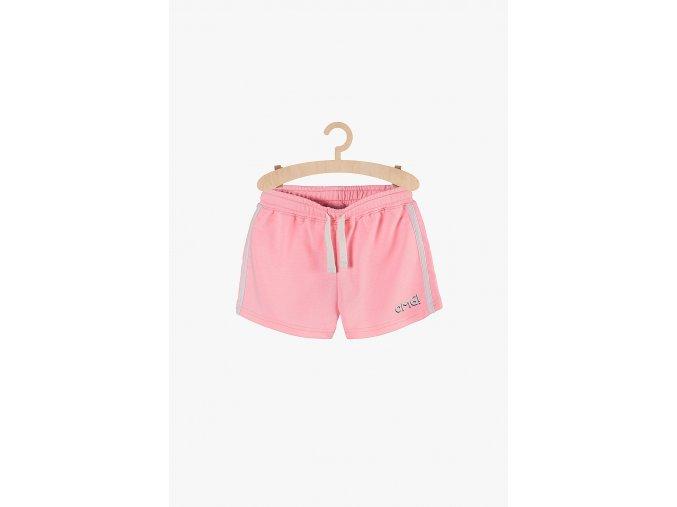 Dívčí sportovní šortky (Barva Růžová, Velikost 134)