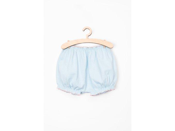Kojenecké šortky (Barva Modrá, Velikost 74)