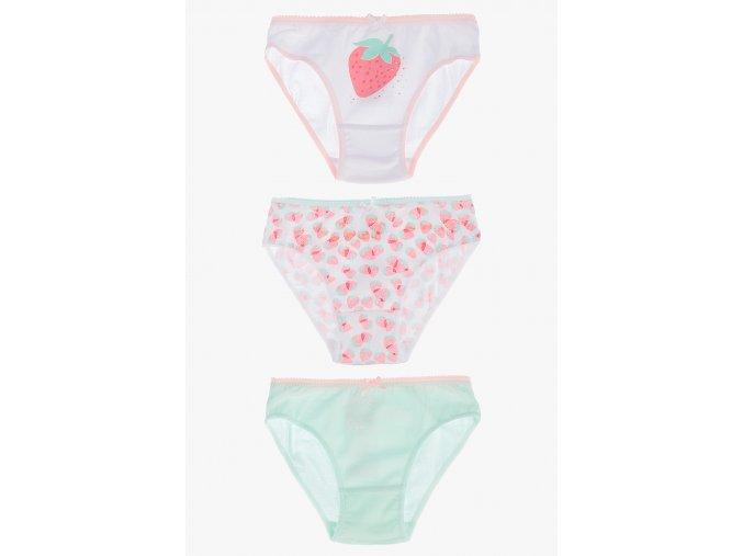 Kalhotky s potiskem - 3 kusy v balení (Barva Mix barev, Velikost 110/116)