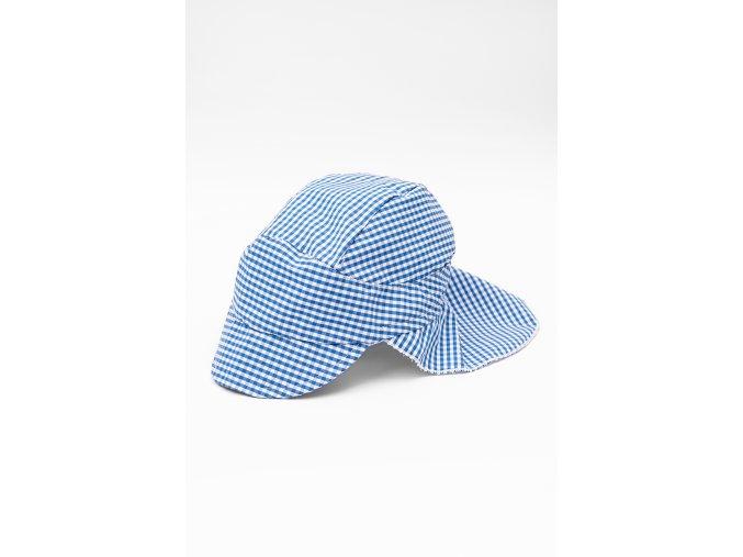 Kojenecká kšiltovka se stíněním (Barva Modrá, Velikost 44/46)