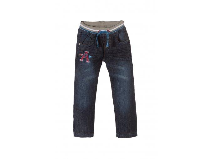 Chlapecké džíny s gumou v pase