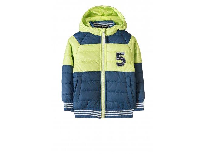 Chlapecká prošívaná zimní bunda s kapucí