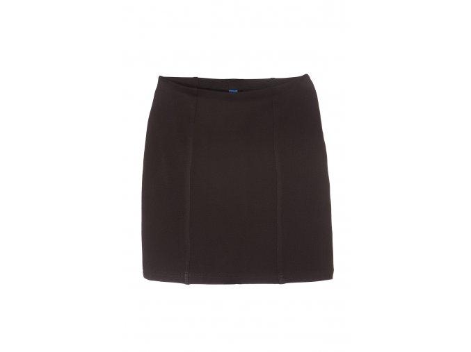 Dívčí černá společenská sukně