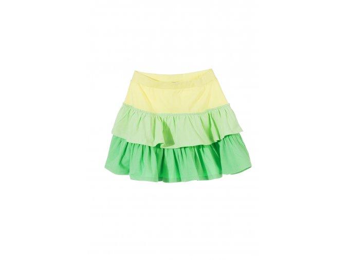 Dívčí sukně s kanýrky