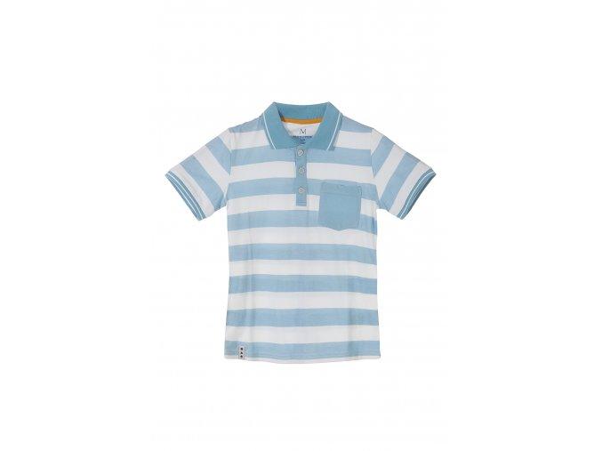 Chlapecké tričko krátký rukáv s límečkem