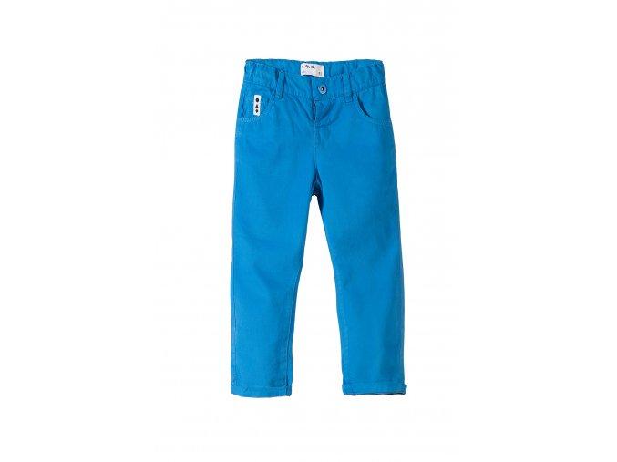 Chlapecké modré bavlněné kalhoty