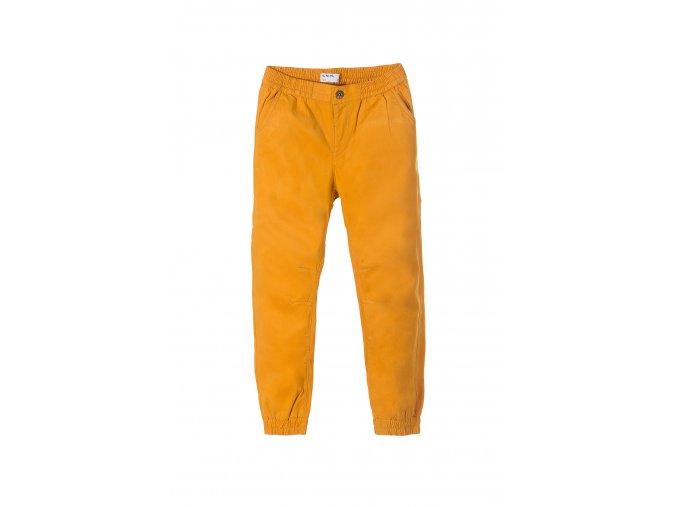 Chlapecké žluté bavlněné kalhoty