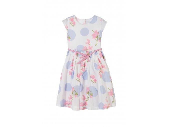 Dívčí šaty s páskem
